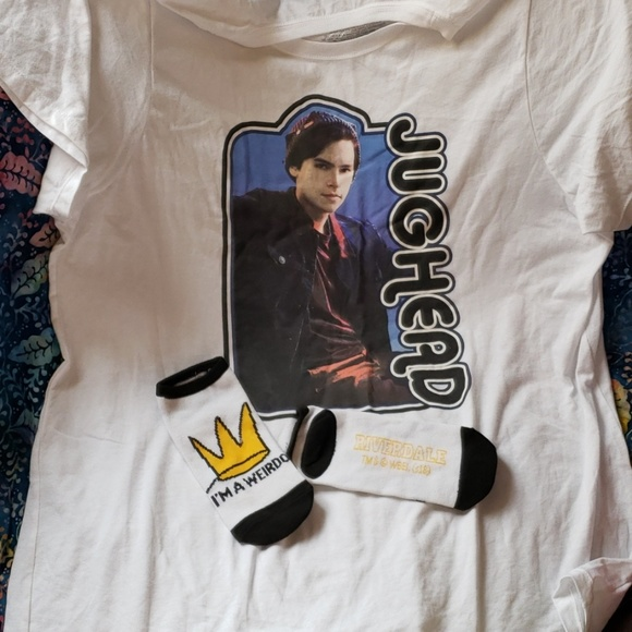 torrid Tops - 🆓 gift 🆕 Riverdale Jughead (Cole Sprouse) sz 3